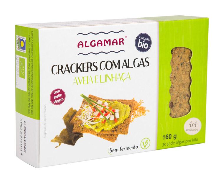 crackers aveia e linhaca