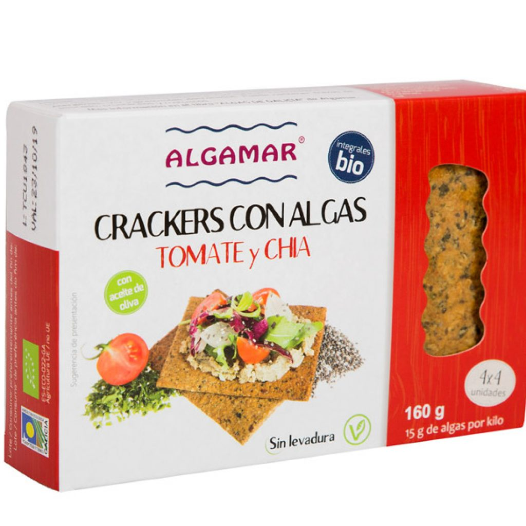 Crackers Tomate y Chia