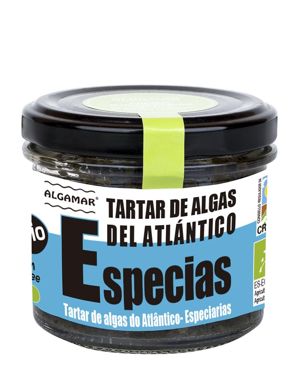 tartar de algas del atlantico especies algamar