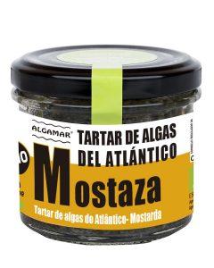 TARTAR DE ALGAS ATLÁNTICAS CON MOSTAZA