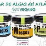 tartar de algas ecologicas algamar