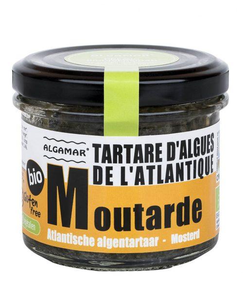 TARTARE D'ALGUES DE L'ATLANTIQUE MOUTARDE